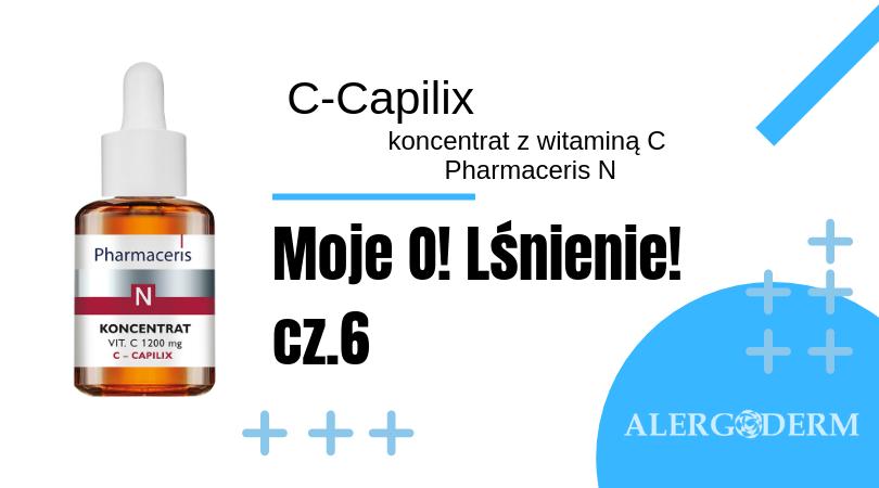 Moje O! Lśnienie. C-Capilix, koncentrat z witaminą C Pharmaceris N